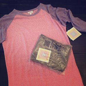 LuLuRoe NWT Shirt and leggings